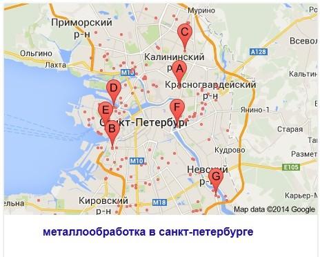 Металлообработка Санкт-Петербург
