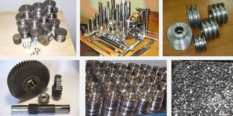 Изготовление штучных деталей из металла