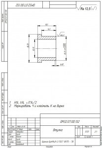 Изготовление втулок из бронзы БрАМц9-2