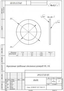 Наша металлообрабатывающая компания Уралоснастка закончила изготовление шайб