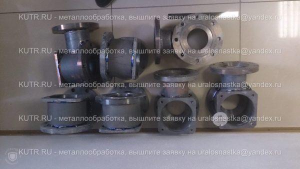 Производство деталей из титана